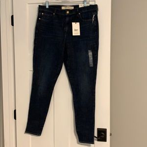 Gap High Waisted Skinny Jeans